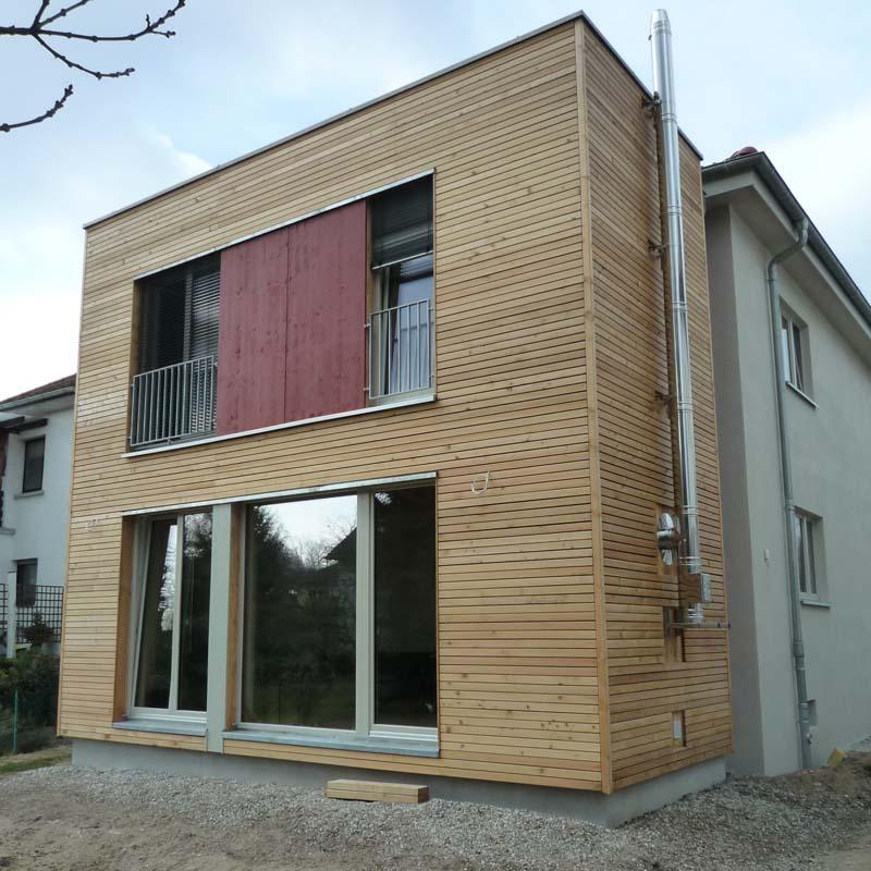 umbau und erweiterung eines wohnhauses. Black Bedroom Furniture Sets. Home Design Ideas